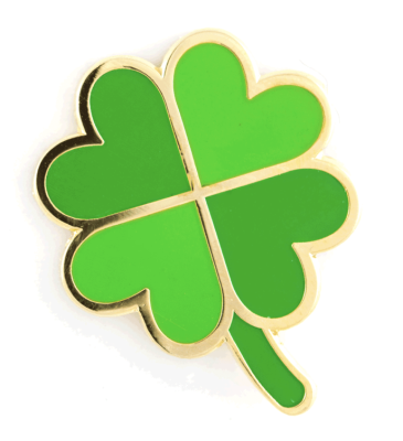 Four Leaf Clover Pin These Are