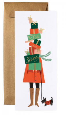 Season of Giving Long Card - Rifle Paper Co.