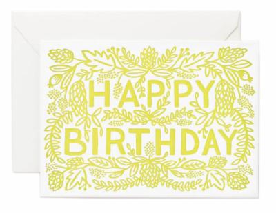 Letterpress Birthday - Rifle Paper Co