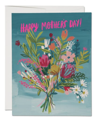 Neon Pink Mother - Red Cap Cards