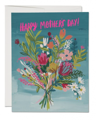 Neon Pink Mother Red Cap Cards