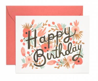 Floral Burst Birthday - Rifle Paper Co.