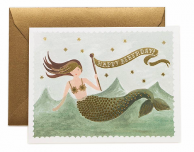 Vintage Mermaid Birthday Rifle Paper Co