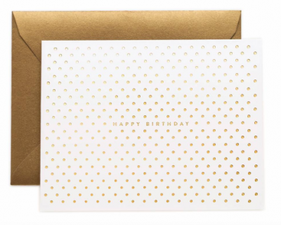 Gold Dots Birthday Rifle Paper Co