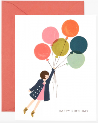 Fly Away Birthday Card Rifle Paper