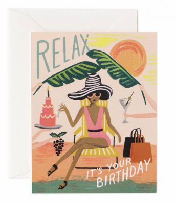 Relax Birthday - Rifle Paper Co.