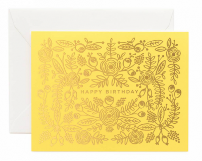 Limoncello Birthday - Rifle Paper Co