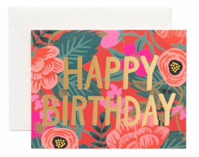 Poppy Birthday - Rifle Paper Co.