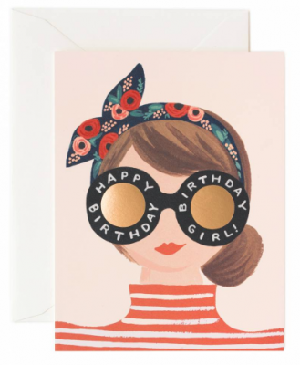 Birthday Girl Card Rifle Paper Co