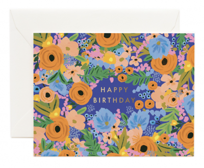 Simone Birthday Card - Greeting Card