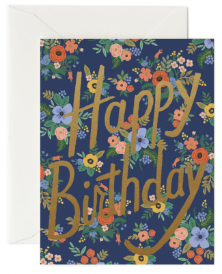 Garden Birthday Card - Greeting Card