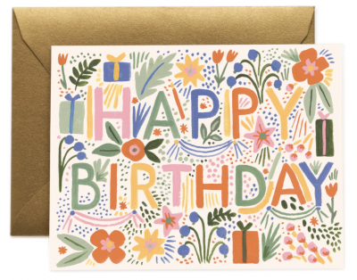 Fiesta Birthday Card - Greeting Card