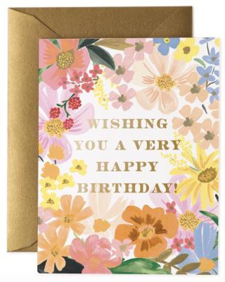 Marguerite Birthday Card - Rifle Paper