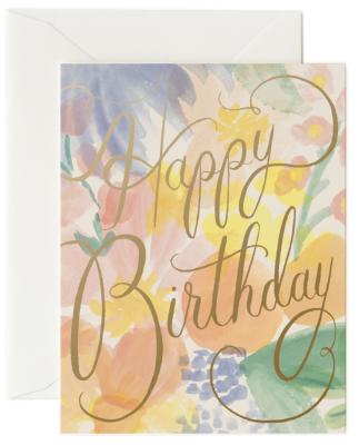 Gemma Birthday Card - Rifle Paper
