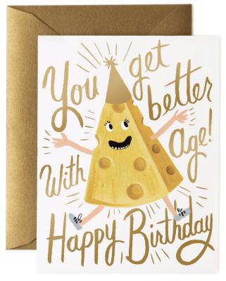 Better Wish Age Birthday Card Rifle