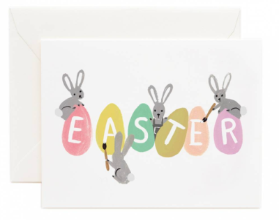 Busy Bunnies Easter - Rifle Paper Co.