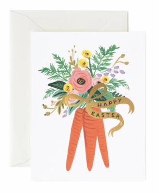 Carrot Bouquet Card Rifle Paper Co