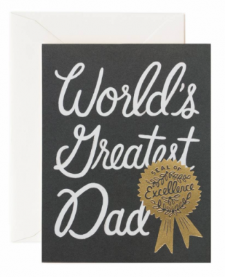 World s Greatest Dad - Rifle Paper Co.