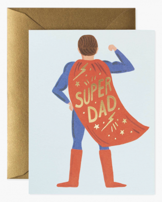 Super Dad Card - Greeting Card