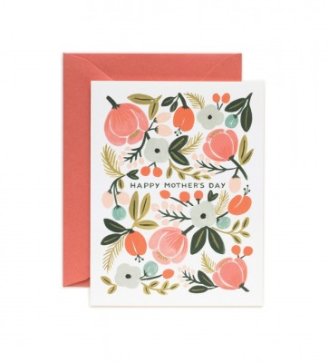 Blooming Mothers Day Card Greeting Card