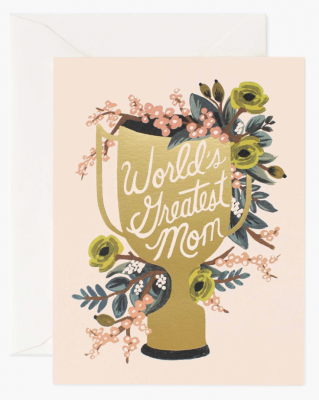 World Greatest Mom Card Rifle Paper