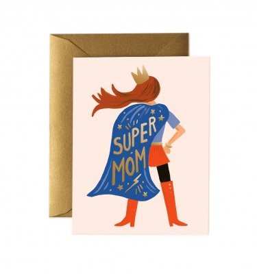 Super Mom Card - Grußkarte