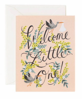 Welcome Little One Rifle Paper Co