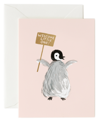 Welcome Penguin - Rifle Paper Co.