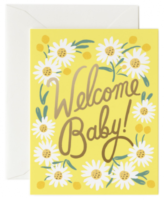 Daisy Baby Card - Rifle Paper