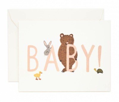 Baby - Peach - Rifle Paper Co.