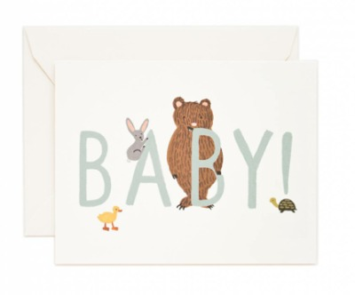 Baby - Mint - Rifle Paper Co.