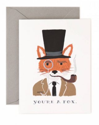 You re a Fox - Rifle Paper