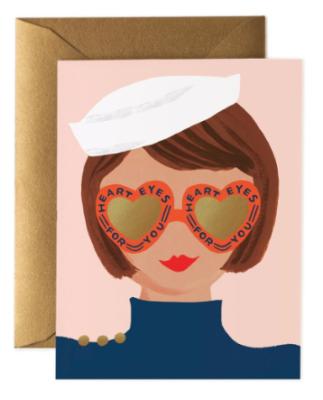 Heart Eyes Card - Grusskarte
