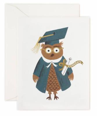 Congrats Owl - Rifle Paper Co.