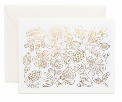 Gold Botanical - Rifle Paper Co.