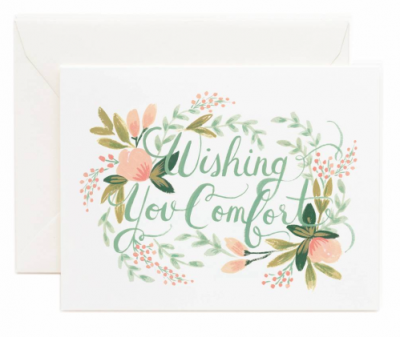 Wishhing You Comfort Rifle Paper Co