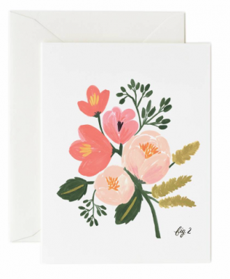 Peony Pink Floral Rifle Paper Co