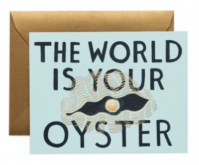 The World is your Oyster - Rifle Paper Co.