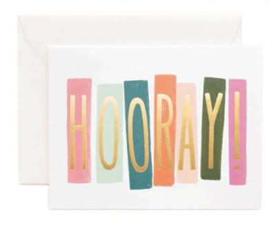 Hooray Card - Grusskarte