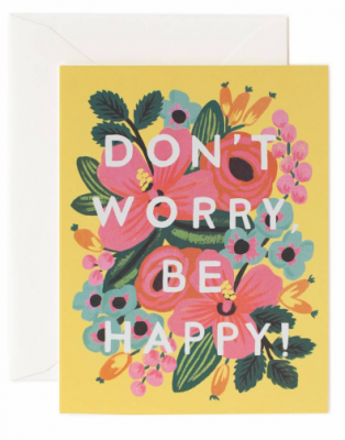 Don t Worry, be Happy - Rifle Paper Co.