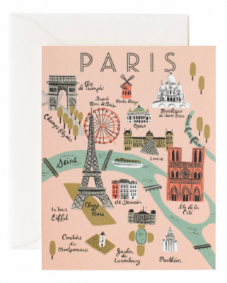 Paris Map - Rifle Paper Co