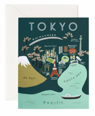 Tokyo Map - Rifle Paper Co.