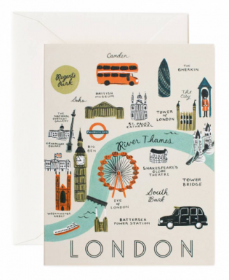 London Map - Rifle Paper Co