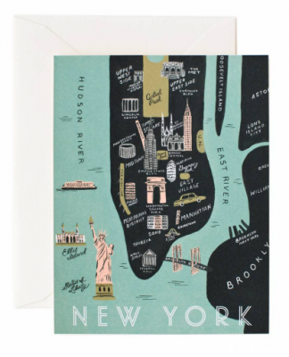Manhatten Map - Rifle Paper Co