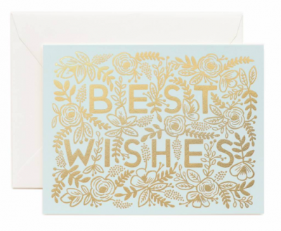 Golden Best wishes Rifle Paper Co