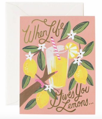 When Life Gives You Lemons - Rifle Paper Co.