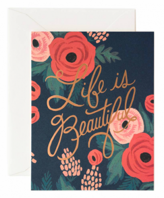 Life is Beautiful - Rifle Paper Co.