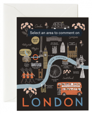 London Card - Greeting Card