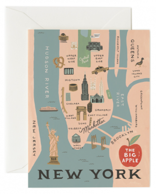 New York Card - Greeting Card