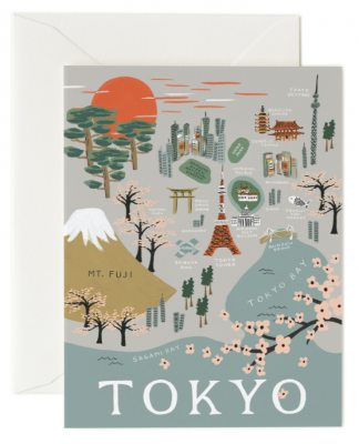 Tokyo Card - Greeting Card